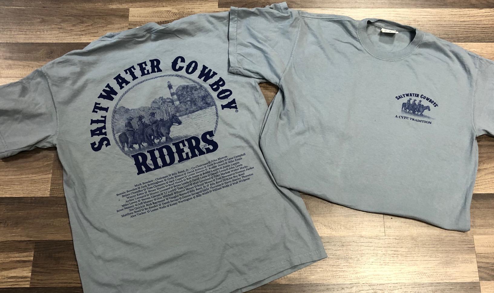 Saltwater Cowboy Comfort Colors T-Shirt